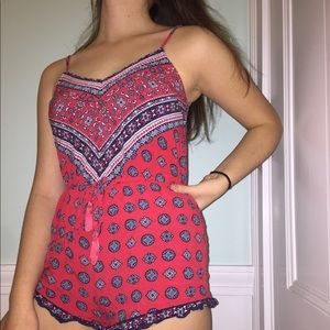 Patterned Summer Romper